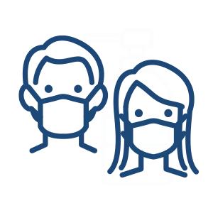 担当GMの体調管理とマスク着用